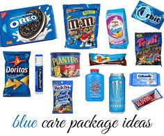Care Package - blue theme