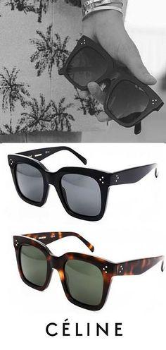 Make a perfect feminine outfit with Celine Tilda sunglasses http://www.smartbuyglasses.com/designer-sunglasses/Celine/Celine-CL-41076/S-Tilda-807/BN-262000.html