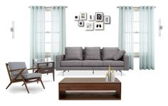 """""""living room"""" by watermellon6 on Polyvore featuring interior, interiors, interior design, home, home decor, interior decorating, Royal Velvet, Magnussen Home, Volo Design and living room"""