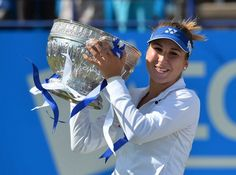 Tennis Bencic Clinches Maiden Title in Eastbourne Lawn Tennis, Tennis Clubs, Tours, Animals, News, Hot, Animales, Animaux, Animal