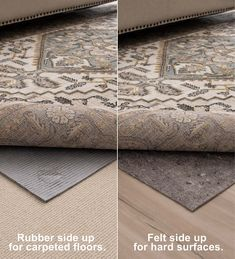 If you have pets, kids or both, your rugs and floors deserve the extra protection offered by our Recycled Synthetic Fiber All-Surface Pet-Proof Rug Pad. Like traditional rug pads, this marvel keeps rugs in place and provides extra cushion underfoot, but the real genius is in the moisture barrier backing that keeps liquids from reaching the floor, giving you time to clean up spills. With a Pet-Proof Rug Pad in place, accidents cannot seep through your rug and become trapped underneath,