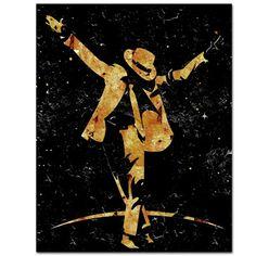 MJ art: Black & Gold Smooth