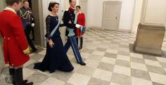 The Royal Watcher - Prince Joachim and Princess Marie attend the gala dinner held on the occasion of Queen Margrethe II of Denmark's 75th birthday at Christiansborg palace.