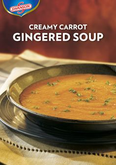 creamy carrot gingered soup potato onion soup recipes dinner recipes ...
