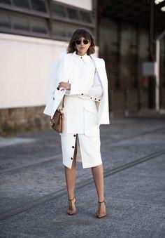 10 Ways To Style A White Shirt