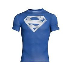 199eb77fa Under Armour Alter Ego Compression Chrome Superman Tee Men s Royal Blue.  Suzie Kersh · Discount Designer Vault