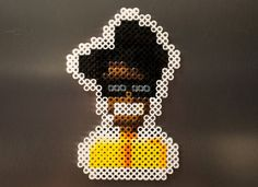 Maurice Moss // IT Crowd Inspired Character Sprite // by PixelMelt, $8.50 #moss #itcrowd #beadsprite #8bit #accessory #shopping #etsy