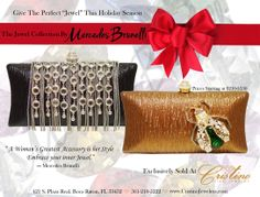 Embrace Your inner Jewel with an evening clutch  by Mercedes Brunelli designed especially for Cristino Fine Jewelry.  This Collection is unique and elegant and is the perfect addition to every women's wardrobe.  It can be worn as a clutch or a cross body bag. Evening Clutches, Her Style, Cross Body, Fine Jewelry, Crossbody Bag, Jewels, Elegant, Unique, Accessories