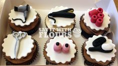 Hairdressing Cupcakes