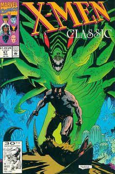 X-Men Classic # 67 by Mike Mignola Comic Book Artists, Comic Book Characters, Comic Artist, Comic Books Art, Marvel Comics, Marvel Art, Dark Horse Comics, Mike Mignola Art, Tarot