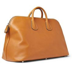 Tote a classic carryall courtesy of Valextra Leather Craft, Leather Bag, Mens Essentials, Mr Porter, Duffle Bags, Tote Bag, Bag Making, Man Shop, Mens Fashion