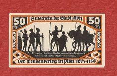 Germany Notgeld 50 pfennig 1921 Schleswig Holstein Plon #14