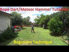 Meteor Hammer/Rope Dart Tutorial - Beginners technique