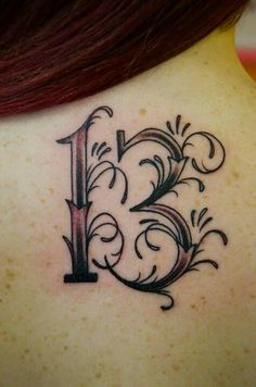 Kinda what I'm going to get, but with 13 multicolored hearts around it. 13 is lucky in my family. <3