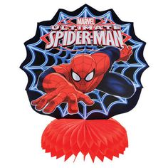 Ultimate Spider-Man Mini Table Centerpieces 3ct by ElsaPartySupply on Etsy