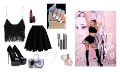 """""""Untitled #112"""" by akars on Polyvore featuring Zara, Chicwish, Coach, BP., Bobbi Brown Cosmetics, women's clothing, women, female, woman and misses"""