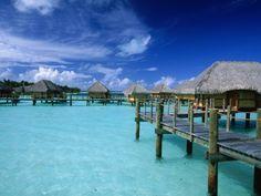 Pearl Beach Resort, Bora Bora (Photograph by Walter Bibikow)