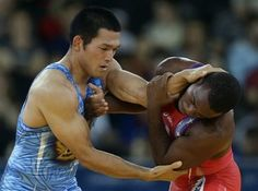 2012 London Olympics: Questionable call sinks Northern Michigan's Justin Lester in G-R quarters Olympic Wrestling, Olympic Games, Asian Games, Sports Training, Northern Michigan, Sinks, Mma, Martial Arts, Olympics