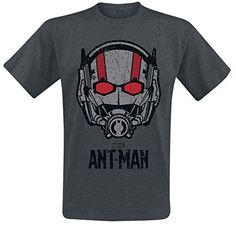 Ant-Man Helmet T-Shirt charcoal XXL