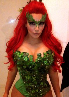 Poison Ivy Costume History | Poison ivy costumes Ivy costume and Poison ivy  sc 1 st  Pinterest & Poison Ivy Costume History | Poison ivy costumes Ivy costume and ...