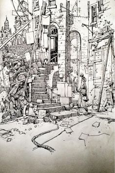 """""""Sketchbook: Cowgate. http://t.co/exKWKxrDAf"""""""