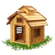 Bird Wood Dog House  The Bird Wood Dog House is a unique themed dog house for your regal canine.  Pet Squeak Wood Dog Houses are designed to be Easy to Assemble, Durable, Affordable, and Comfortable for your pet.  - See more at: http://www.large-dog-houses.com/blog/lang/us/bird-wood-dog-house-large/#sthash.shBoqu38.dpuf