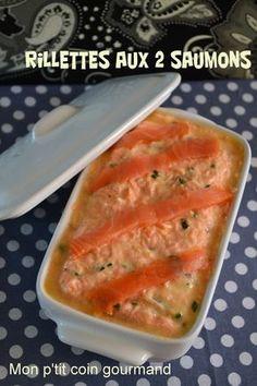 Recette de Rillettes aux deux saumons et yaourt nature : la recette facile