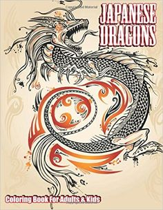 Illustration of Dragon Doodle Sketch Tattoo Icon Tribal grunge Vector Illustration Art vector art, clipart and stock vectors. Art And Illustration, Tribal Dragon, Dragon Art, Tattoo Coloring Book, Coloring Books, Kids Coloring, Adult Coloring, Grunge, Japanese Dragon