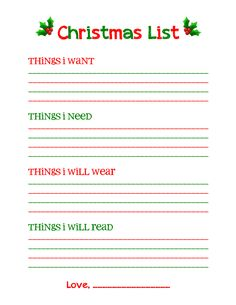 Online christmas wish list template printable i added small med or large neck size for my . online christmas wish list template Noel Christmas, Christmas Wishes, Simple Christmas, Winter Christmas, Christmas Gifts, Christmas Decorations, Christmas Ideas, Christmas Stuff, Christmas 2019
