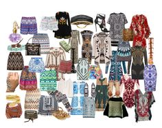 ethnic style2 by elenilor on Polyvore featuring sass & bide, Gucci, Dolce&Gabbana, Peter Pilotto, Temperley London, Isabel Marant, Calypso St. Barth, MANGO, maurices and Hervé Léger