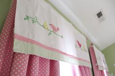 pink and green girls nursery - a blog post with a free printable! Penelope pottery barn bedding