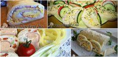 Sajttekercs nélkül nem hidegtál a hidegtál: 5+1 szuper recepttel - Receptneked.hu - Kipróbált receptek képekkel Zucchini, Vegetables, Vegetable Recipes, Veggies