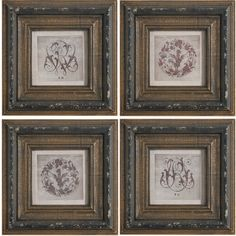 Add an artful touch to your entryway or master suite with this wood wall decor, showcasing a scrolling motif and weathered frame.  P...