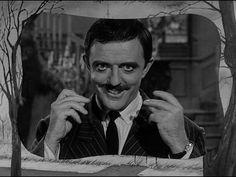 Addams Family Image: Addams Family Tv Show Opening Credits Original Addams Family, Addams Family Tv Show, John Astin, Charles Addams, The Munsters, Opening Credits, Family Images, Beetlejuice, Mom And Dad