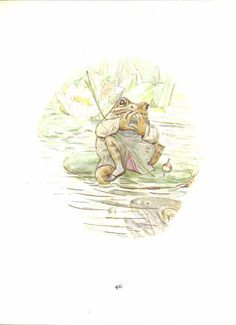 Beatrix Potter The Tale of Mr. Jeremy Fisher by TheVintageRead, $4.95
