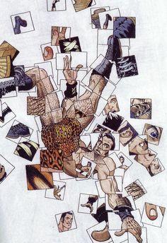 Frank Quitely and Tom McCraw's cover artwork for Flex Mentallo Best Comic Books, Comic Books Art, Comic Book Artists, Comic Artist, Flex Mentallo, Comic Book Layout, Graphic Novel Art, Comic Panels, Classic Comics
