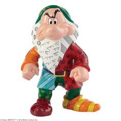 4044117 Grumpy Figurine- Designed by pop artist Romero Britto, Grumpy makes his large size debute #disney #britto #britto