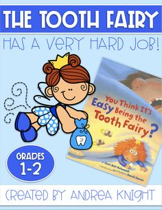 My kids love this spunky version of the Tooth Fairy . she's a great example of a character with goals and confidence! This set includes student sheets that extend the learning for reading, writing, and math. Primary Resources, Teaching Resources, Dental Health Month, First Grade Teachers, Children's Picture Books, Tooth Fairy, Learning Activities, Teaching Kids, Teeth