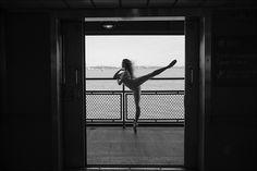 Ballerina Project - Hanna - Staten Island Ferry, Brooklyn  B-Top &...