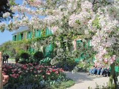 Claude Monet's House and Garderns in Giverny