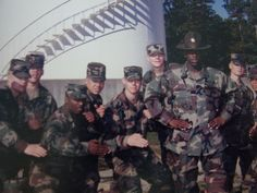 Teamwork .... and a pic of me when I was in the Army!