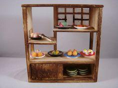 Chinese kitchen miniature