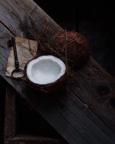Coconut, Still life styling, by Inna Gutman food stylist