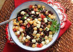 Mediterranean Chickpea Salad (Balela)