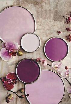 Decorando baños morados, malvas, berenjenas, orquídea radiante Blog T&D