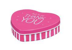 Happy Jackson 'Thank you' Heart tin