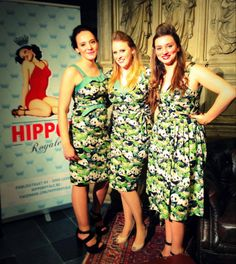 Panda trio @ Vintage Night Out by HIPPO! Royale