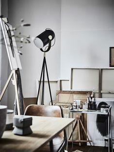 Home of an artist - via cocolapinedesign.com