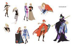 Gender bent Disney: Sleeping Beauty by Doro