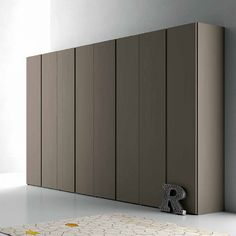 Contemporary Italian Design 'Spring Plus' Wardrobe. Roomy, beautiful and elegant wardrobe. Materials are resistant and durable. High quality product.